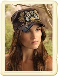 2 Pistols Ball Cap from Smith and Western