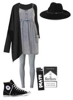 """Violet Harmon inspired"" by lovee77 ❤ liked on Polyvore featuring T By Alexander Wang, Topshop, By Malene Birger and Converse"