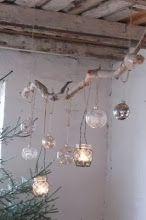 Pretty indoor/outdoor lighting inspiration.