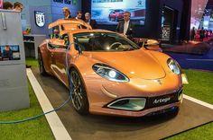 Artega Scalo - немецкий электрический спорткар представлен на автосалоне во Франкфурте