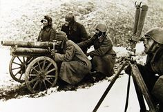 Greek soldiers fight the Axis Italian Fascist invasion in the mountains of Albania during the Greco-Italian War, which lasted from 28 October 1940 to 23 April The soldiers prepare to fire a Military Photos, Military History, Albania, Greek Soldier, Greek Warrior, Pearl Harbor Attack, Greek History, Cannon, World War Ii