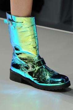 Blumarine boots. No idea where they are from, but i would totally wear these with EVERYTHING