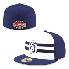 San Diego Padres New Era 2015 All-Star Game Authentic Collection Diamond Era  On-Field Fitted Hat - Navy 5e0692475a50