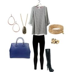 Black danskos or oxfords. Not blue purse.