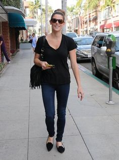 Actress Ashley Greene is all smiles after getting pampered in Beverly Hills.