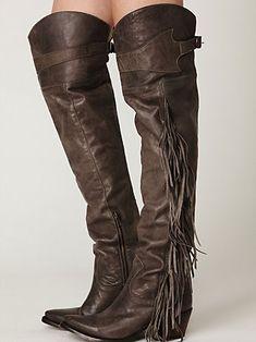 High Cowboy Boots Tsaa Heel