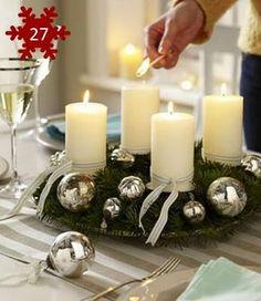 Decoração de mesa para o Natal - 30 ideias fáceis!!