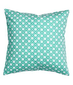 Accent Decorative Pillow Cushion Cover 100% Cotton Twill Cushion Sleeve 16-by-16 inch Diamond Floral Print (Turquoise) SweetyPie. http://www.amazon.com/dp/B014HVSN06/ref=cm_sw_r_pi_dp_VcPiwb0RKM67W
