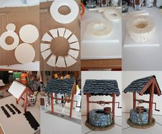 Puits - Well  - Scale model Styrofoam DIY
