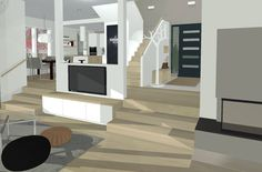 Talo Askelma: Kaiteet ja valinnan vaikeus Stairs, Home Decor, Stairway, Decoration Home, Room Decor, Staircases, Home Interior Design, Ladders, Home Decoration