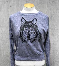 Long-Sleeve Wolf T-Shirt