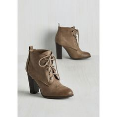 French Romp to Victorian Bootie ($27) ❤ liked on Polyvore featuring shoes, boots, ankle booties, vegan boots, victorian boots, light brown oxfords, oxford ankle boots and oxford boots