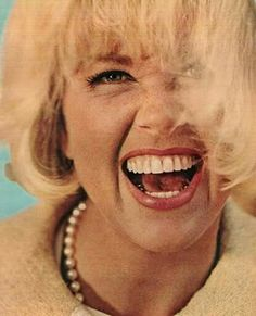 Doris Day she is so joyful in this picture.