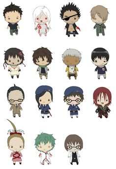 More like chibi deadman wonderland (////)