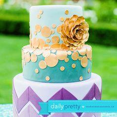 Daily Pretty! Modern Cake Creations - http://sparkliatti.com/2013/12/daily-pretty-7/