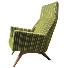 Danish High Back Lounge Chair