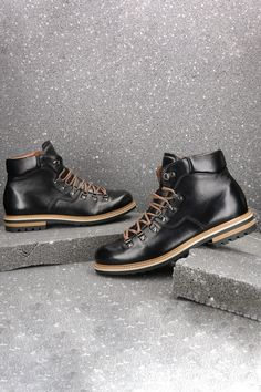 Trzewiki Meskie Skorzane Czarne Olivier Ce6140 01 Combat Boots Boots Dr Martens Boots