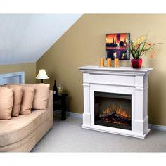 Dimplex Maestro Kenton White Fireplace - SMP-130-W-ST