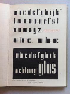Herbert Hoffmann (ed.): Hoffmanns Schriftatlas: Das Schriftschaffen der Gegenwart in Alphabeten und Anwendungen, Stuttgart 1930.