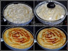 Leyla ile Yemek Saati: Tavada Sahte Su Böregi – Vejeteryan yemek tarifleri – The Most Practical and Easy Recipes Gourmet Recipes, Baking Recipes, Bread And Pastries, Turkish Recipes, Mets, Beignets, C'est Bon, Crepes, Cooking Time