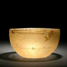 Roman Period Glass Bowl, Circa 1st-4th century AD. Courtesy of Anavian Gallery