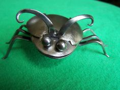 LadybugStainless Steel Silverware Welded by 2ndChanceMetalArt