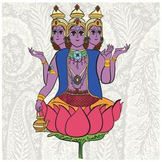 #brahma #hinduism #mythology #god