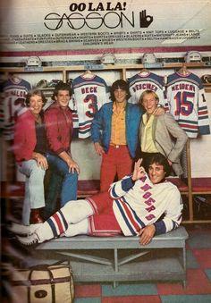 1981 New York Rangers NY Hockey Sasson Jeans Print Ad Vintage Advertisement Rangers Hockey, Ice Hockey Teams, Men's Hockey, Sports Teams, Baseball, Vintage Advertisements, Vintage Ads, Nhl, Hockey Decor