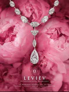 Leviev Diamond Necklace ♔ #luxury #DIVA in #PINK  | Classy & Fabulous! | https://uk.pinterest.com/foodielovin/diva-in-pink/