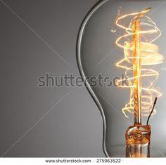 edison lightbulb close up - Google Search