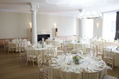 Wedding Breakfast set for 65 guests. London Wedding Venue, RSA House