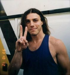 The great Chuck Schuldiner from Death band :'(