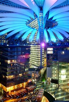 Sony Center, Berlin  I saw this place on Ultra Eye (AXS.TV)