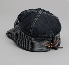 """OLD MAN AND THE SEA"" CAP, 12 OZ DENIM :: HICKOREE'S"