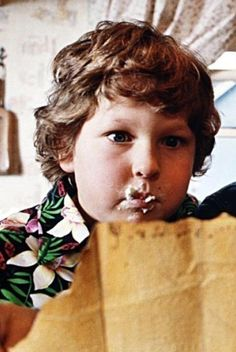 Just watched The Goonies again recently. I heart Chunk