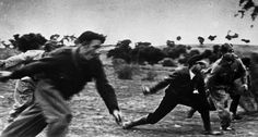 Battle of the Ebro river (July 25th to August 3rd 1938) during the Spanish Civil War by David Seymour