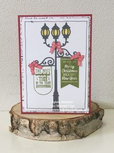 Sneak Peek Brightly Lit Christmas# Stampin' Up! # Mijn Freubelhoekie