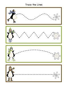 penguin worksheets for preschool | Winter Activity Printables | Preschool Printables: Penguin Winter Fun