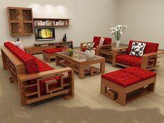 Thiết kế nội thất-Sang trọng với đồ nội thất gỗ sồi
