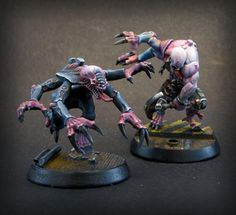 Genestealer Cult: SpaceHulk to Overkill - sidequest, Genestealer Zbrush sculpt w/toungue action now! - Page 38 - Forum - DakkaDakka | You know you're supposed to be painting.