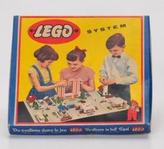 Lego ... before there were kits. You built from your imagination.