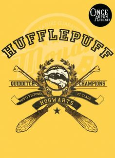 Hufflepuff Quidditch. IUSTI VICTORIA ET CLADE (Just in Victory and Defeat). $17