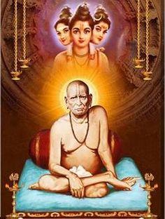 swami-samarth-with-dattatreya