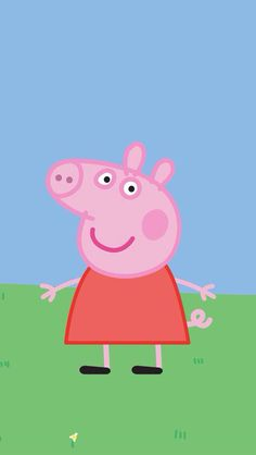Peppa Pig Funny, Peppa Pig Cartoon, Peppa Pig Memes, Wallpaper Background Design, Cute Wallpaper Backgrounds, Cute Wallpapers, Peppa Pig Wallpaper, Funny Phone Wallpaper, Peppa Pig Painting