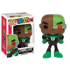 Cyborg as Green Lantern Pop Vinyl Pop Television Teen Titans | Pop Price Guide