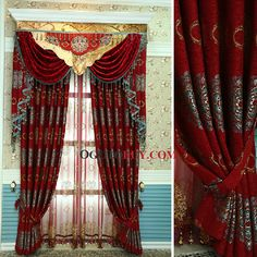 haute qualit victorienne chenille salon rideau en beige aucune comprend valance victorians. Black Bedroom Furniture Sets. Home Design Ideas