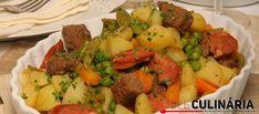 Receita de Jardineira de carne. Descubra como cozinhar Jardineira de carne de maneira prática e deliciosa com a Teleculinária!