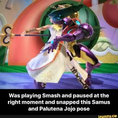 Was playing Smash and paused at the right moment and snapped this Samus and Palutena Jojo pose - Was playing Smash and paused at the right moment and snapped this Samus and Palutena Jojo pose - iFunny :) Super Smash Bros Memes, Nintendo Super Smash Bros, Persona 5, Super Smash Ultimate, Video Game Memes, Another Anime, Jojo Memes, Jojo Bizzare Adventure, Gaming Memes