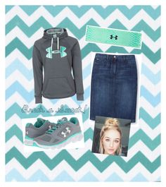 """""""sweat time!"""" by apostolic-country-girl-98 ❤ liked on Polyvore featuring moda, Under Armour y Boden"""