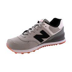 New Balance - Men's State Fair 574 Sneakers - Grey/Black